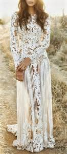white lace wedding dress bohemian white lace wedding dress pictures photos and images for