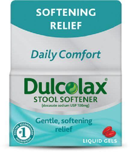 dulcolax stool softner dulcolax stool softener liquid gels ebay