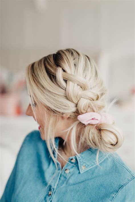 Hairstyles In by 8 Ways To Wear A Scrunchie Twist Me Pretty