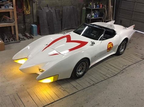 1981 Mach 5 Speed Racer Exhibition Replica Officially