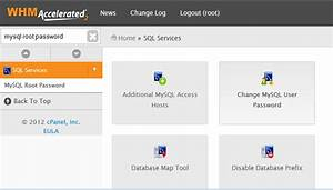 Change MySQL root Password in Cpanel Server HostOnNetcom