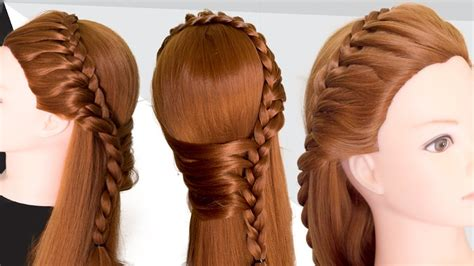 latest hairstyle  party  hairstyle  girls long