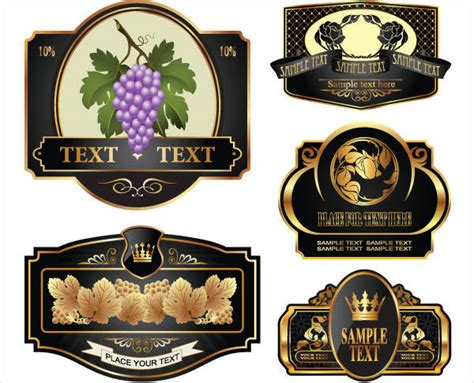 printable wine labels template