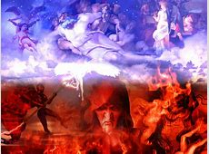God vs Devil Wallpaper WallpaperSafari