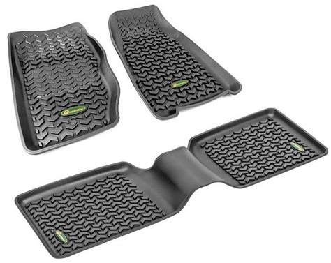 Quadratec All Weather Floor Mats by Quadratec Exclusive Ultimate All Weather Floor Liner Kit
