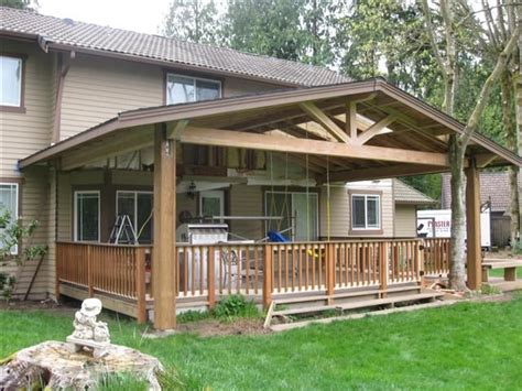 covered porch plans covered decks covered decks or porches pinterest