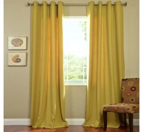 yellow curtains grey walls home decor