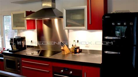 hauteur plan de travail cuisine standard hotte décorative