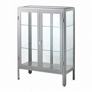 Vitrine Metall Glas : fabrik r witryna szary ikea ~ Whattoseeinmadrid.com Haus und Dekorationen