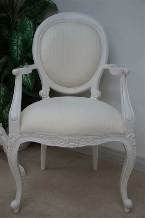 french chic white ornate dining table set   chairs