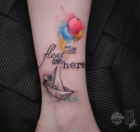 We All Float Down Here Tattoo