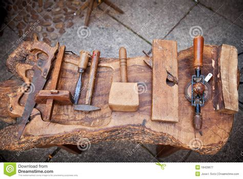 vintage carpenters tools royalty  stock photography