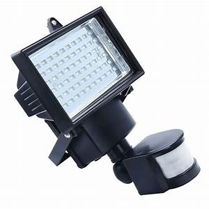 Solar powered outdoor led garden lights leds pir body