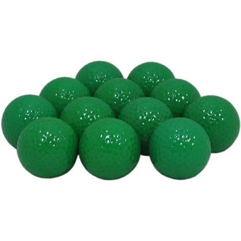 blank brown golf balls golfballs