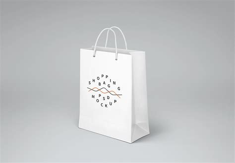 The biggest source of free photorealistic bag mockups online! Free Shopping Bag Mockup | Mockup World HQ