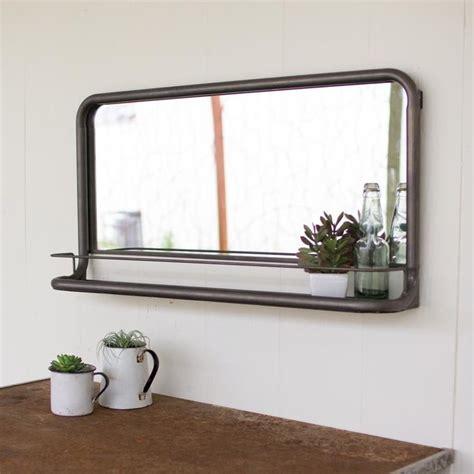 ideas  bathroom mirror  shelf