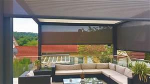 Terrassenüberdachung über Eck : terrassen berdachung auf einer eck terrasse mit ~ Whattoseeinmadrid.com Haus und Dekorationen