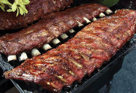 ribs on the grill 187 ribs