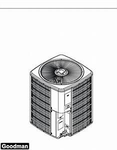 Goodman Mfg Heat Pump Ssz140181a User Guide