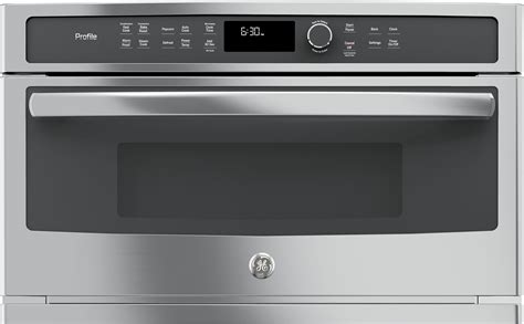 ge pwbslss  cu ft built  microwave oven