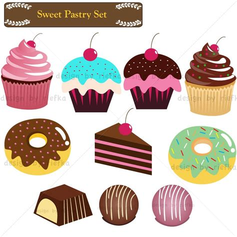 Pastry Clipart Pastry Shop Clip Cliparts
