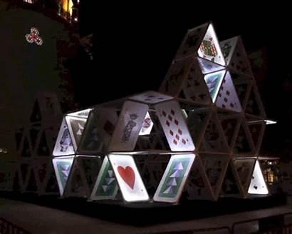 Cards Creative Oge Jerusalem Playing Lights Designboom