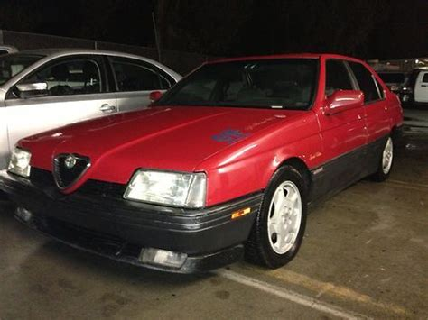 Buy Used Alfa Romeo 164 Rare Collectible Cheap In Lake