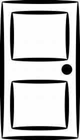 Clipart Door Cartoon Library Cliparts Clip Doors sketch template