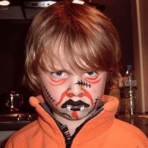 Maquillage Halloween Garcon : maquillage anniversaire enfant ~ Melissatoandfro.com Idées de Décoration