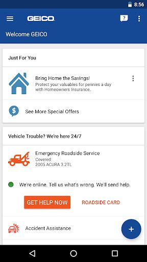 GEICO Mobile - Google Play Store revenue & download ...