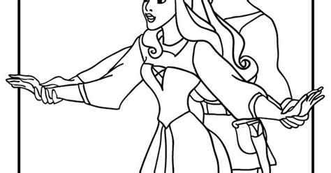 Sleeping Beauty Coloring Pages Singing Princess Aurora And