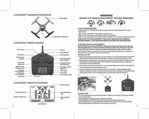 Asian Express Pl1430 Cloud Rider Drone User Manual Propel