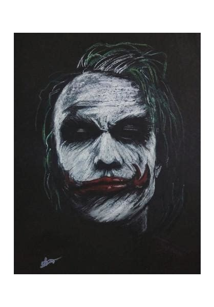 joker heath ledger wall art artist vivek aind postergully