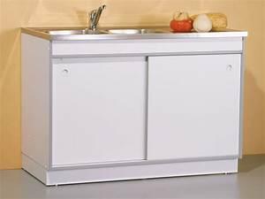 table rabattable cuisine paris meuble sous evier pas cher With meuble sous evier cuisine pas cher