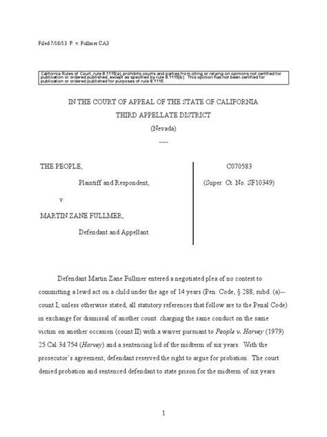 Chip Fullmer Appeals His Sentence for Child Molestation