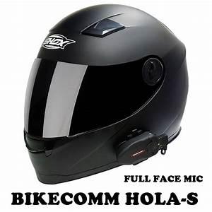 BIKECOMM HOLA-S INTERCOM MOTORCYCLE WATERPROOF BLUETOOTH ...