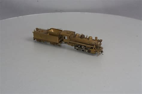 brass department the world of brass model trains alco models ho scale brass 0 6 0 steam locomotive w tender