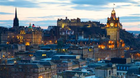 Sunset & Sunrise Pictures: View Images of Edinburgh