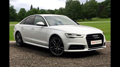 Audi A6 Picture by Ya17ypz Audi A6 Tdi Ultra S Line Black Edition White 2017