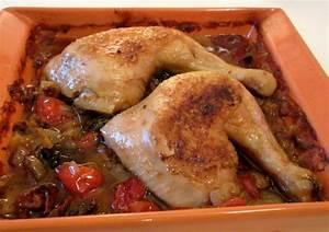 Cuisse De Poulet A La Poele : cuisses de poulet au four diet d lices recettes ~ Mglfilm.com Idées de Décoration