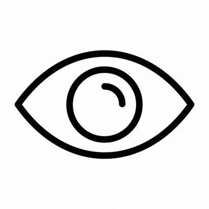 Eye Icon Views Outline Data