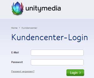 unitymedia kundencenter login fuer kunden kundenlogin