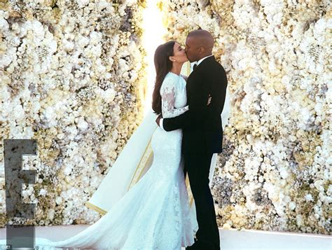 wedding vow backdrop and kanye west seranaded by andrea bocelli