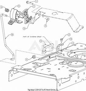 Mtd 13w878st031 Lt 4600  2016  Parts Diagram For Control