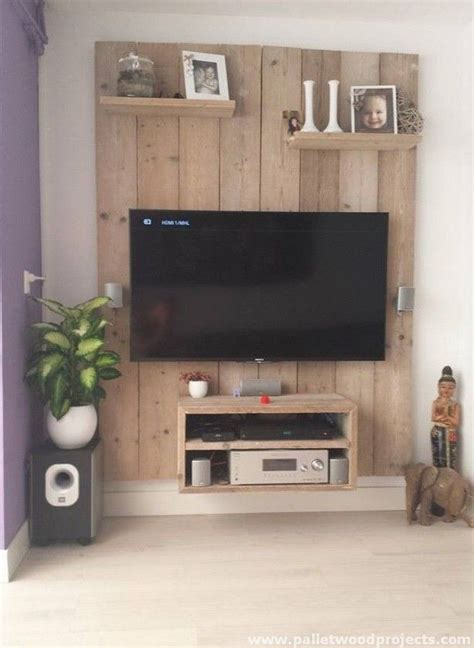 Second Living Room Cabinets by Give Second To Used Pallets Diy Mobilier De Salon