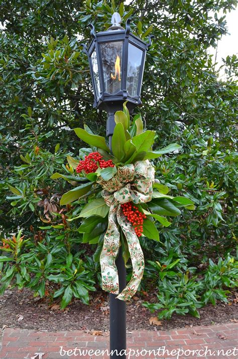 decorate  lantern  christmas  fresh greenery