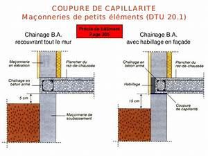 Dtu 20 1 : les mure de sous bassement ~ Premium-room.com Idées de Décoration