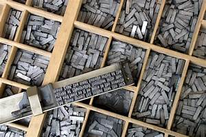 the importance of the printing press snowy range academy With metal typeset letters for sale