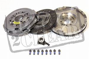 Vauxhall Combo Van 1 3 Cdti Solid Mass Flywheel Clutch Kit  U0026 Slave Cylinder