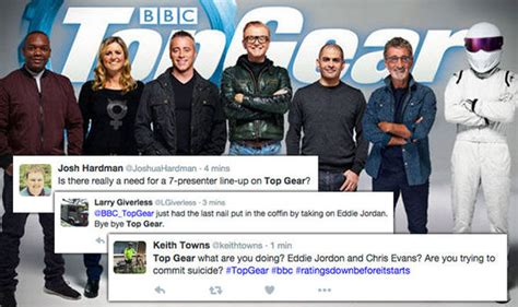 Top Gear Line Up by Top Gear Line Up Revealed Fans Slam Show On